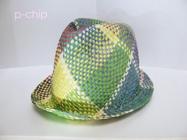 組んで作る帽子(ヘンプ)