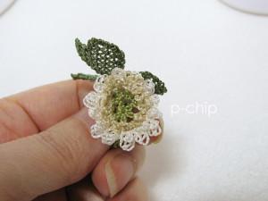 シロツメクサ2号の花